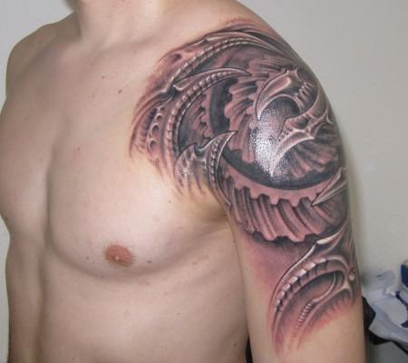 conrad689 biomechanik zahnr der tattoos von tattoo. Black Bedroom Furniture Sets. Home Design Ideas
