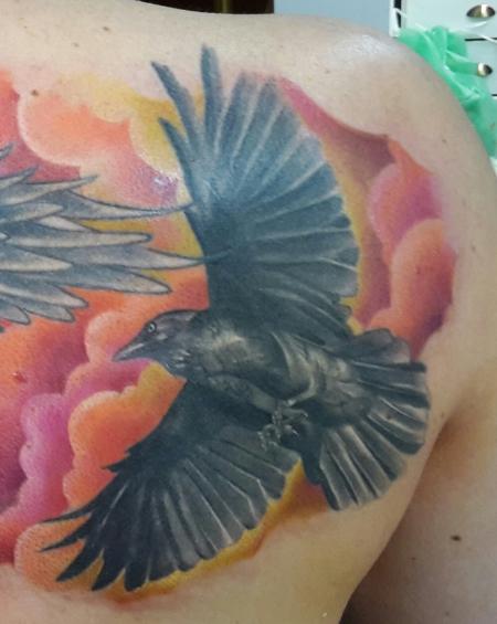 suchergebnisse f r 39 rabe 39 tattoos tattoo lass deine tattoos bewerten. Black Bedroom Furniture Sets. Home Design Ideas